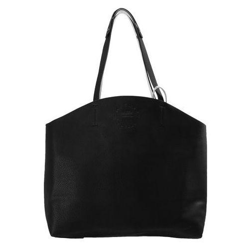 Superdry BLAKE REVERSIBLE TOTE Torba na zakupy black/silver, kolor czarny