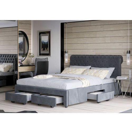 łóżko Tapicerowane Do Sypialni 180x200 1217 Welur Meblemwm