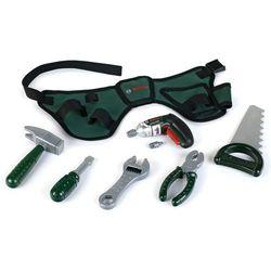 Klein bosch mini pas z narzędziami z wiertarką na baterie