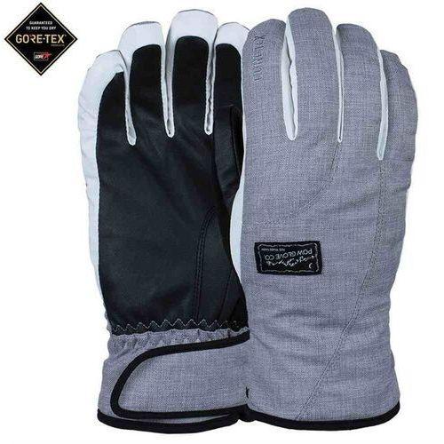 Pow Rękawice - ws crescent gtx glove grey (short) (gy) rozmiar: m