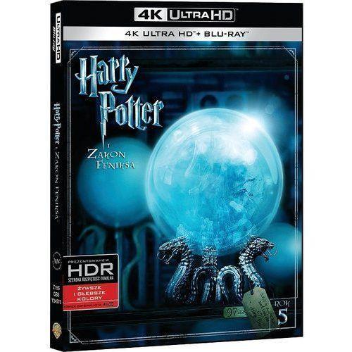 Harry Potter i Zakon Feniksa (4K Ultra HD) (Blu-ray) - David Yates DARMOWA DOSTAWA KIOSK RUCHU (7321999345754)