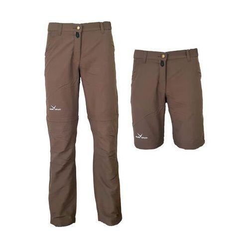 Damskie spodnie 2w1 black canyon aurora, rozmiar m, Black crevice