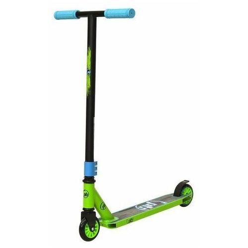 Hulajnoga stunt scratch zielono-niebieska - zielono-niebieski marki Powerblade