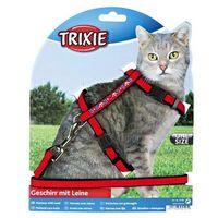 szelki dla kota welurowe z motywem marki Trixie