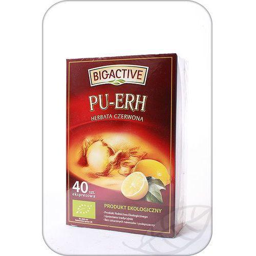 BIG-Active: Pu-Erh herbata czerwona z cytryną FIX BIO - 40 szt.