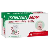 ISONASIN SEPTO krople do nosa 5ml x 20 ampułek