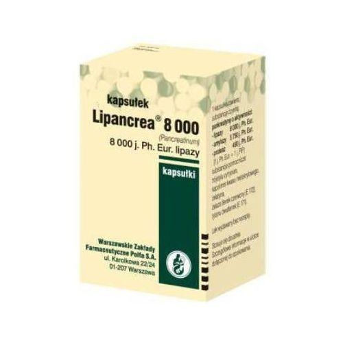Lipancrea 8000 x 20 kapsułek Polfa warszawa