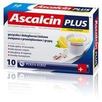 Proszek ASCALCIN PLUS smak cytrynowy 20 saszetek