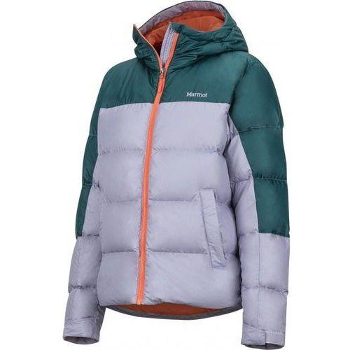 wm's guides down hoody lavender aura/deep teal l marki Marmot