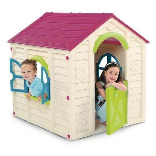 Domek dla dzieci Keter Rancho Playhouse kremowy - Transport GRATIS! (7290106924987)