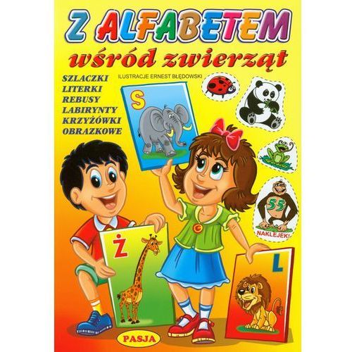 Z alfabetem wśród zwierząt (9788362058655)