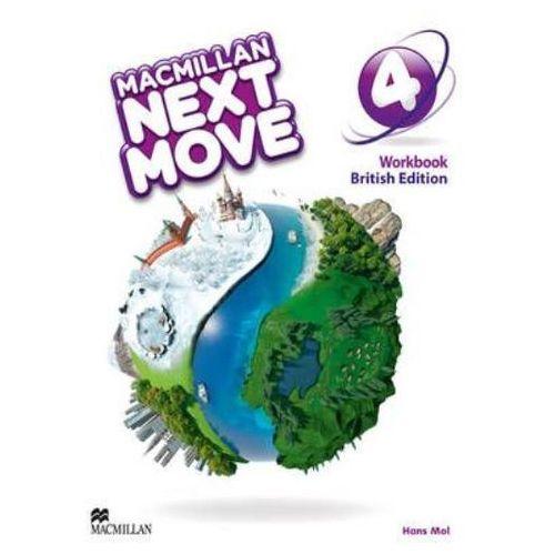 Macmillan Next Move 4 Workbook*natychmiastowawysyłkaod3,99, oprawa miękka
