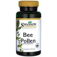 Swanson Bee Pollen (pyłek pszczeli) 400mg - (100 kap) (0087614013169)