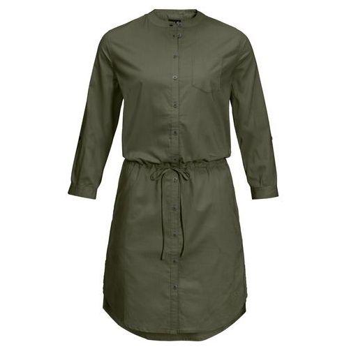 Sukienka INDIAN SPRINGS DRESS woodland green stripes - L