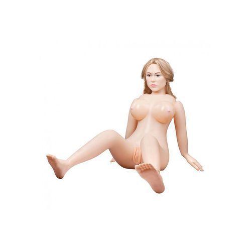 You2toys Dmuchana lalka suzie carina twarz 3d długie włosy   100% dyskrecji   bezpieczne zakupy