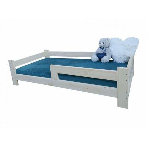Łóżko dziecięce jasper, 160x80 zwykłe z barierką marki Krolik beds