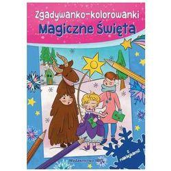 Zgadywanko-kolorowanki magiczne święta + naklejki marki Books