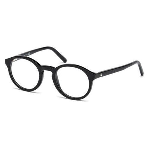 Okulary korekcyjne mb0673 001 Mont blanc