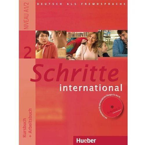 Schritte International 2. Podręcznik z Ćwiczeniami + CD do Ćwiczeń (9783190018529)