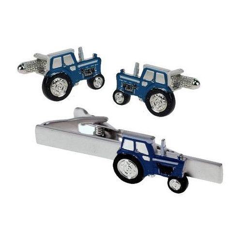 Zestaw Spinek dla Farmera - Traktor niebieski TBC47