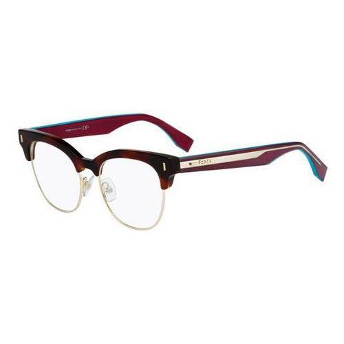 Okulary korekcyjne ff 0163 color block vhb Fendi