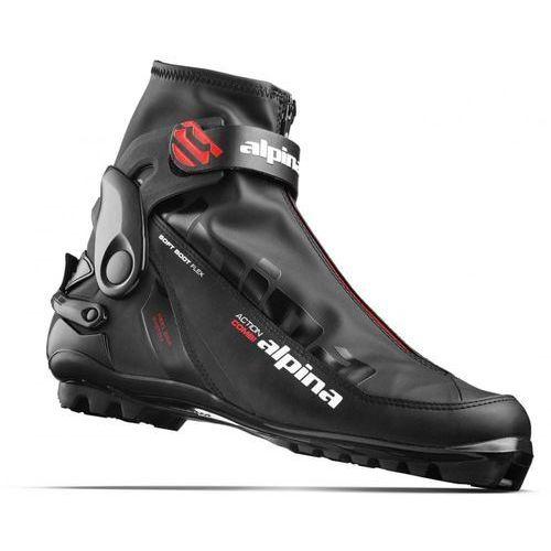 Alpina buty do narciarstwa biegowego a combi black/red/white 42 (3838427467796)