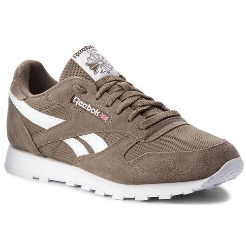 51d6f982 Reebok Buty - cl leather mu cn5018 terrain grey/white - Foto Reebok Buty -