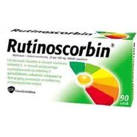 Tabletki Rutinoscorbin 90 tabletek