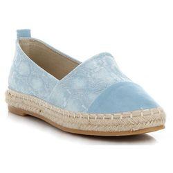 aa9b43207af65 Lady Glory. Stylowe buty damskie espadryle w motyw węża renomowanej marki  ...