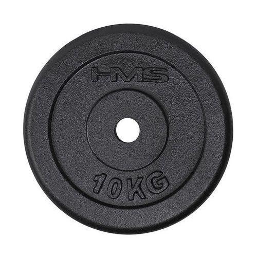 Hms Obciążenie talerz czarny tcz10 10 kg - 10 kg