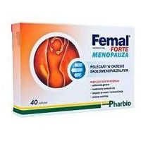 Tabletki FEMAL Forte Menopauza x 40 tabletek