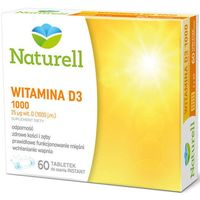 Witamina D3 1000j.m x 60 tabletek do ssania