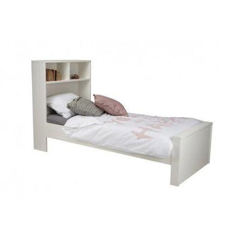 łóżko Max Białe Kolor Biały Woood
