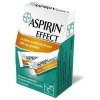 ASPIRIN EFFECT 0,5g x 10 saszetek