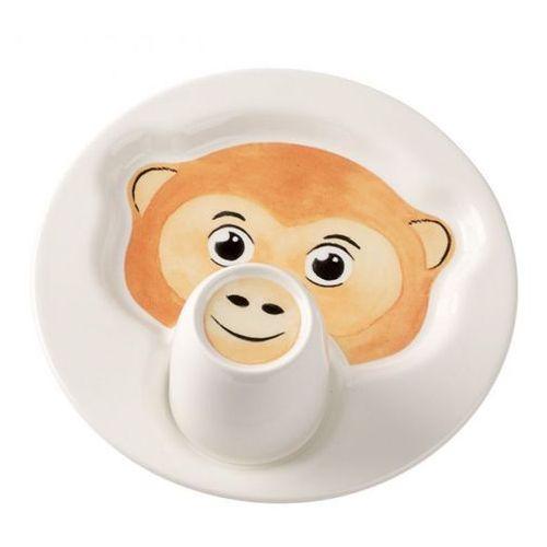 Villeroy & boch - animal friends zestaw dla dzieci małpka ilość elementów: 3