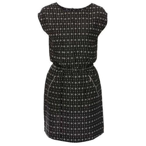 e13ffd5a58 Sukienka czarno-biały z nadrukiem (bonprix) - sklep SkladBlawatny.pl