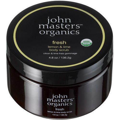 John masters odświeżająca limonka i cytryna - peeling do ciała 136,2g