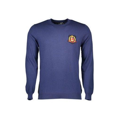 Swetry Love Moschino Sweter Mężczyzna, kolor niebieski