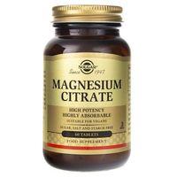 Solgar Cytrynian Magnezu - 60 tabletek
