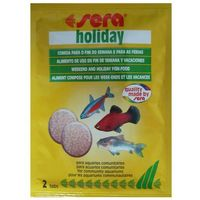 SERA Holiday - pokarm w tabletkach dla rybek 2tabl (4001942009935)