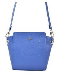 Listonoszka Franco Bellucci niebieska, kolor niebieski