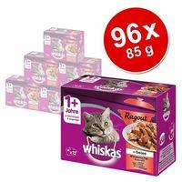 Megapakiet Whiskas 1+ Ragout, 96 x 85 g - Pakiet mieszany