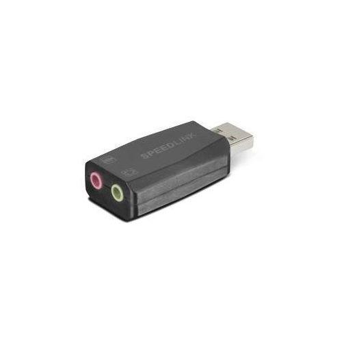 Karta dźwiękowa Speed Link Vigo USB (SL-8850-BK-01) (4027301633870)