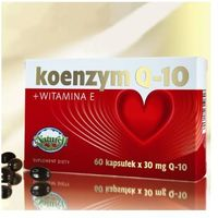 Koenzym Q10 30mg + Witamina E 5mg 60 kaps.