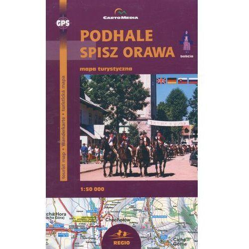 Podhale Spisz Orawa Mapa turystyczna 1:50 000