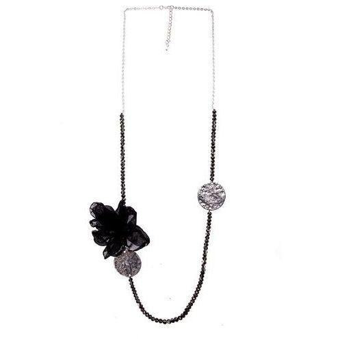 7d82a15f0921a6 Naszyjnik z czarnym kwiatem, kolor czarny opinie + recenzje - ceny w ...