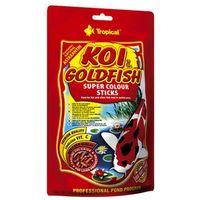 Koi&goldfish colour sticks pokarm dla ryb w stawach 1000ml/90g marki Tropical