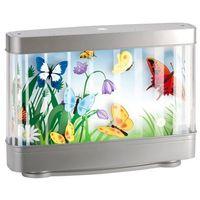 Lampka LED Butterfly 1 x 9 W szara (5906737307748)