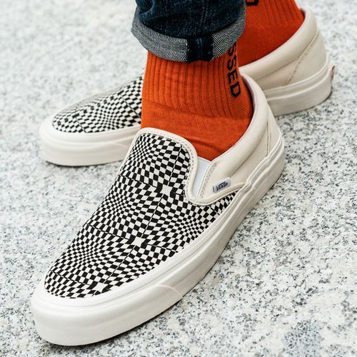 Vans Anaheim Classic Print Slip On 98 Dx Sneakers in 2019