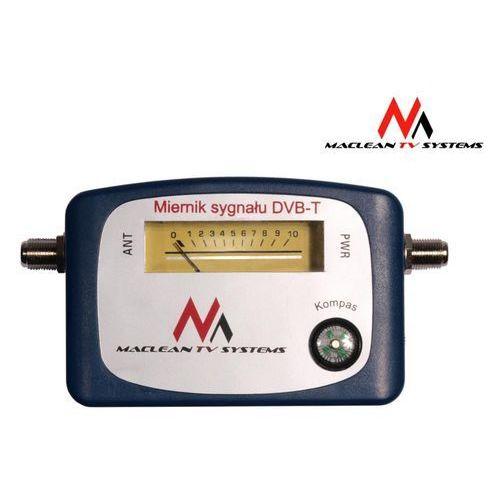 Maclean Miernik sygnalu DVB-T MCTV-627 Do ustawiania anten DVB-T Darmowy odbiór w 20 miastach! - sprawdź w wybranym sklepie